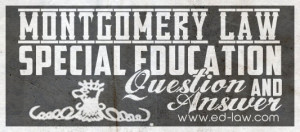 Special Education Law Question and Answer